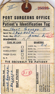 George's patient ID front close