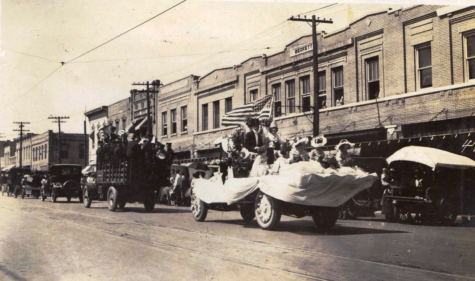 1920 May Day Parade