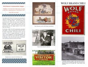 Wolf Brand brochure - outside